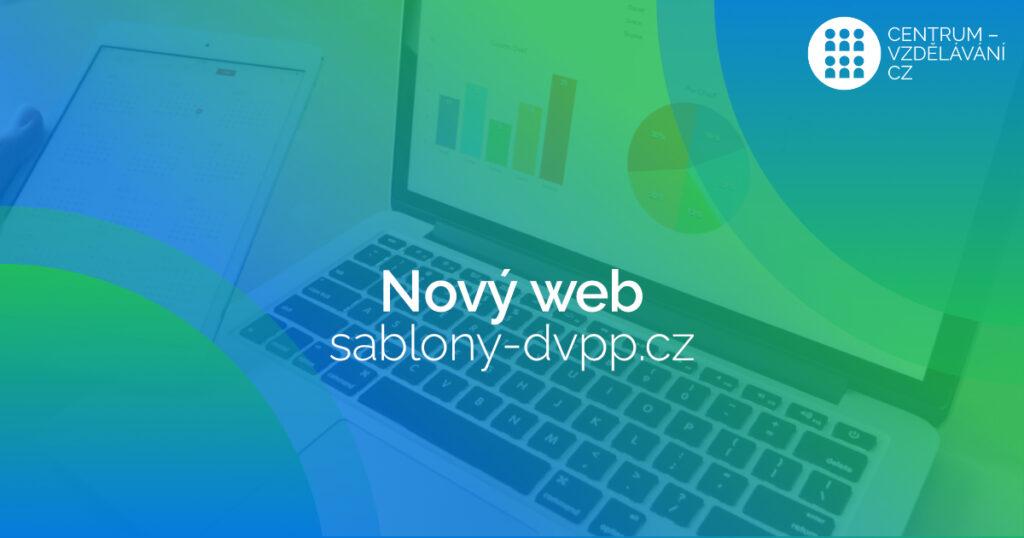 Spuštění nového webu sablony-dvpp.cz