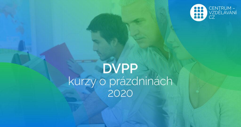 Budete se i Vy o prázdninách vzdělávat prostřednictvím kurzů DVPP?