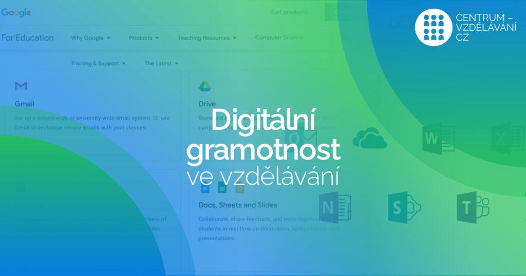 Digitální gramotnost ve vzdělávání