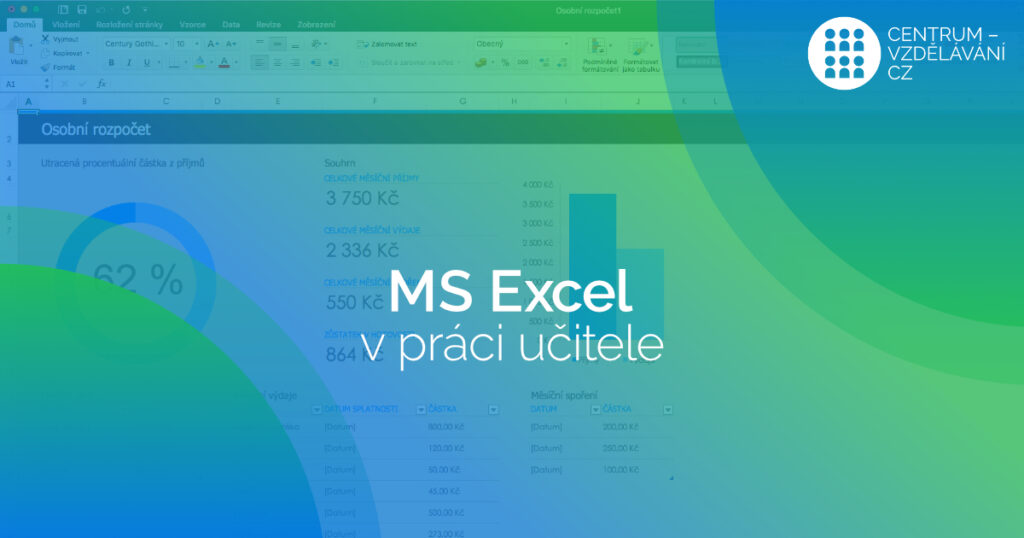 MS Excel v práci učitele - DVPP