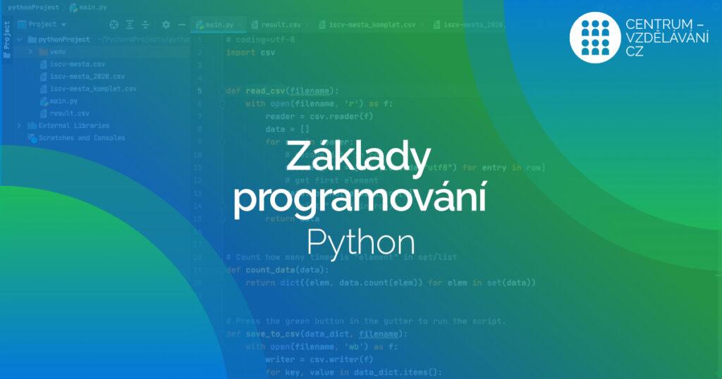 DVPP Základy programování Python