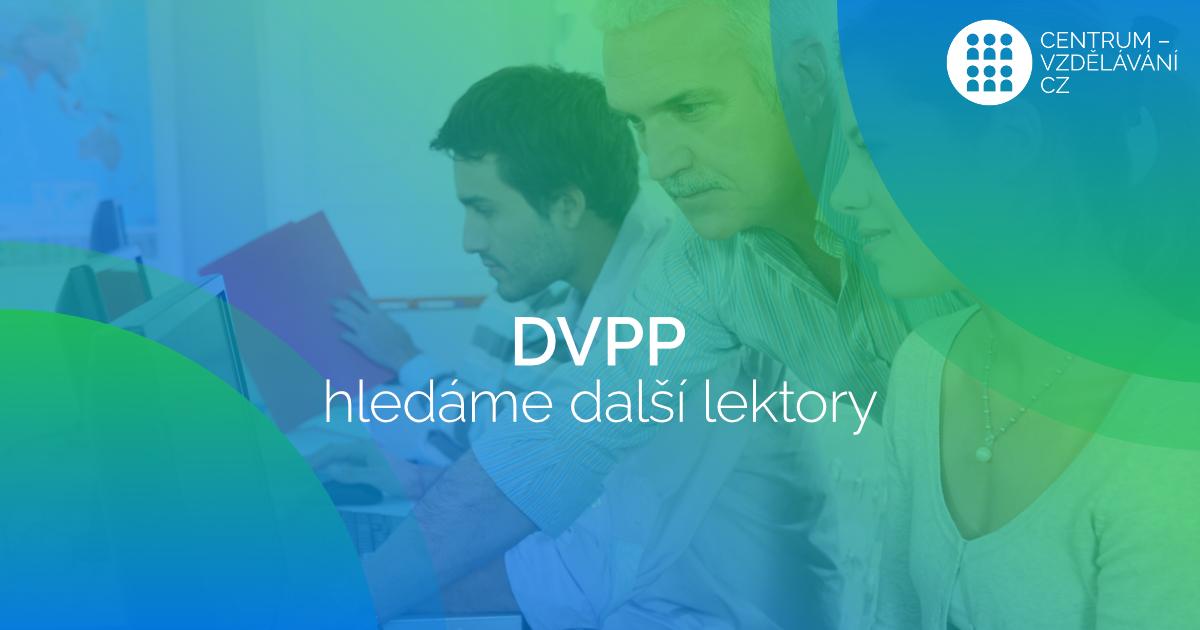 Hledáme další lektory DVPP