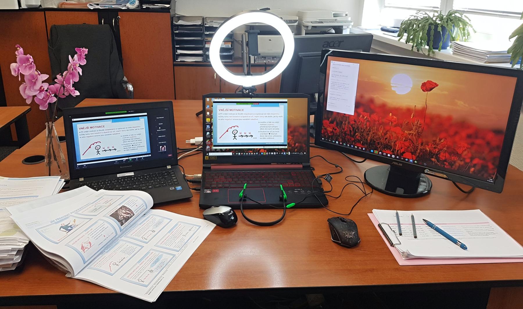 On-line pracoviště